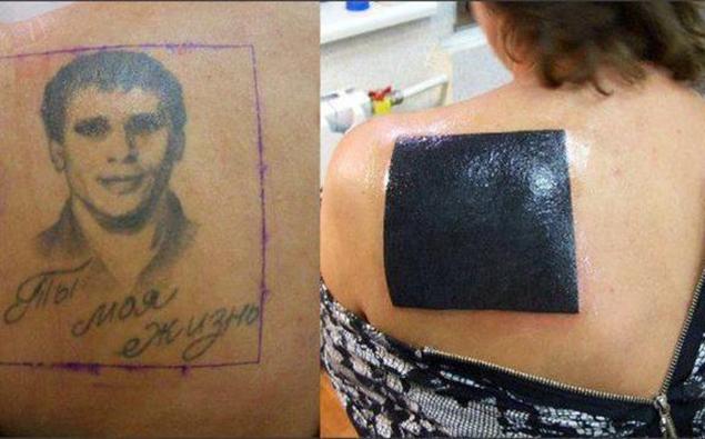 Из старого, но легендарного до и после, неудача, ошибки, перекрытие, татуировки, трансформация, фото, юмор