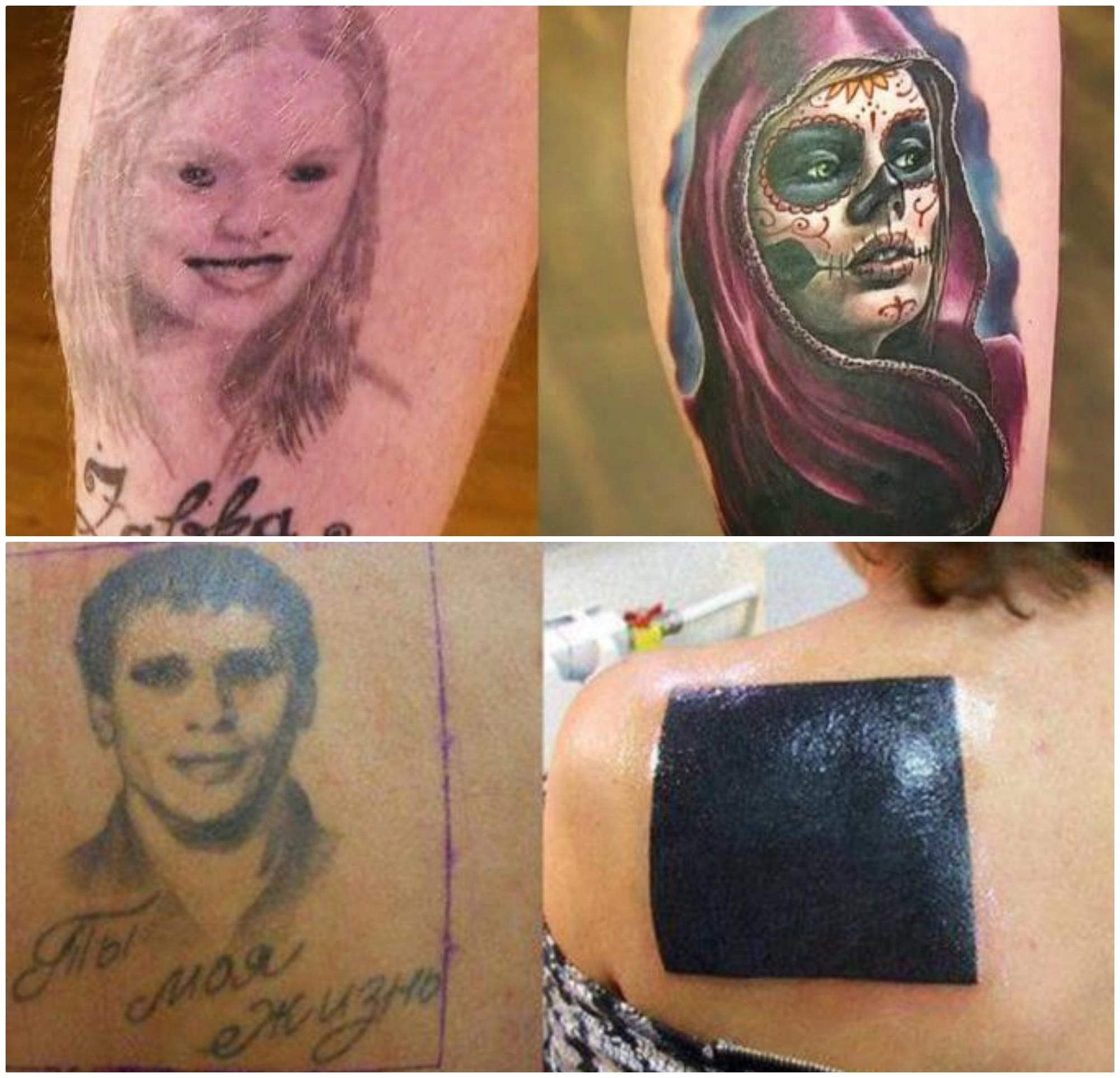 Стираем ошибки молодости: топ-15 перекрытых татуировок до и после, неудача, ошибки, перекрытие, татуировки, трансформация, фото, юмор