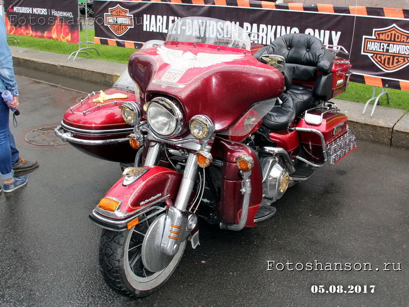Harley-Davidson Ultra Classic Electro Glide из Питера harley, harley-davidson, мото, мотоцикл