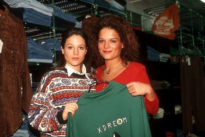 Модные девчонки вспомнить молодость, дорогие россияне, история, как это было, лихие 90-е, россия, фото, это наша с тобой биография