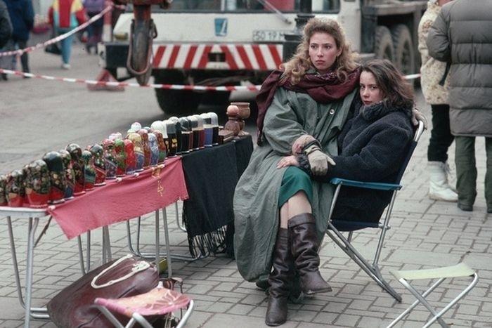 Русские матрешки вспомнить молодость, дорогие россияне, история, как это было, лихие 90-е, россия, фото, это наша с тобой биография