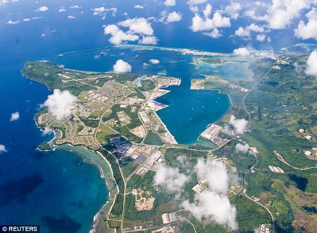 Военно-морская база Гуам расположена в юго-западной части острова кндр, мир, пво, политика, сша, угроза, япония