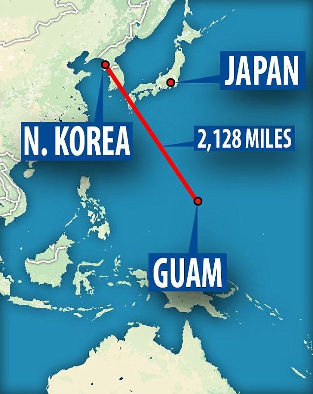 Гуам - крупнейшая стратегическая военная база США в Тихом океане кндр, мир, пво, политика, сша, угроза, япония