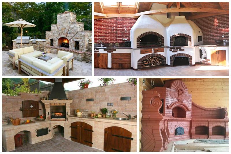 Основные составляющие многофункциональных печных комплексов это: красота, кухня, мангал, печка, печные комплексы, свой дом, шашлык