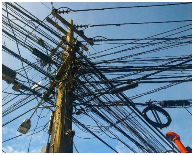 В Тайланде безобразие, перепутано, провода, страны, ужас перфекциониста