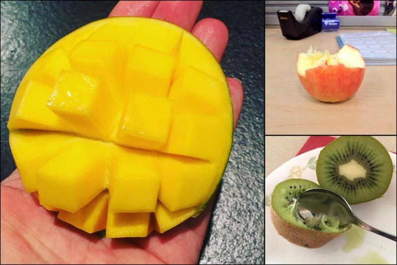 """16 фруктов, которые люди чистят, режут, едят и хранят """"не так"""" как все еда, познавательно, фрукты, хитрости, хранение"""