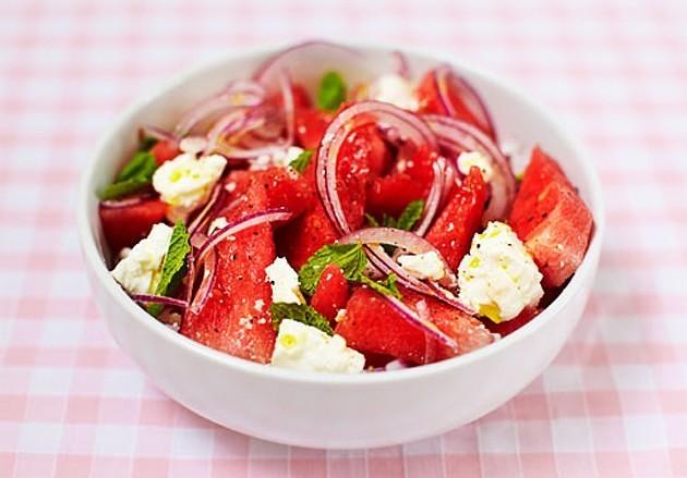 Арбузный салат Лайфхак, арбуз, выбор, житейская хитрость, лето, нитраты, рецепт, рынок