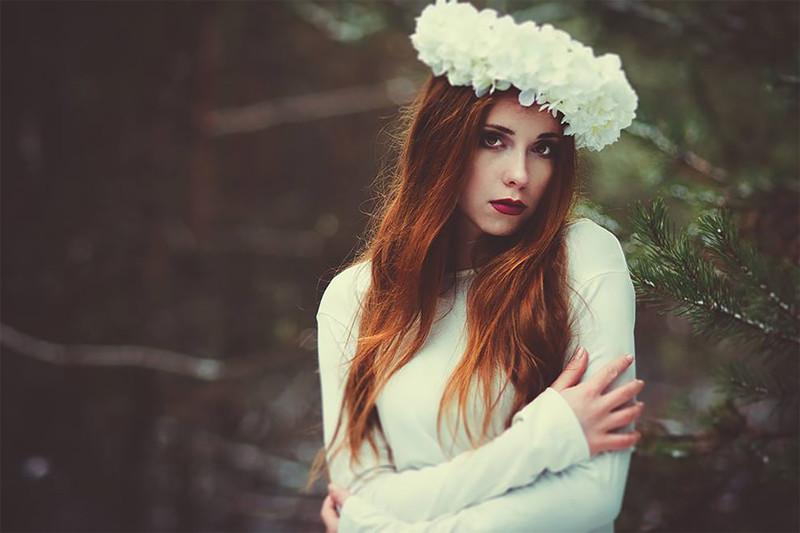 Панночки-колдуньи в объективе польской фотохудожницы Польша, Эвелина Зих, красавицы, портреты, славяне, славянские девушки, творчество, фото