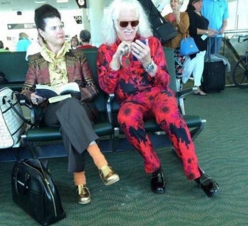 Ну и конечно же, в аэропортах встречаются очень интересные и странные персонажи аэропорт, интересное, прикол, самолёты, фото