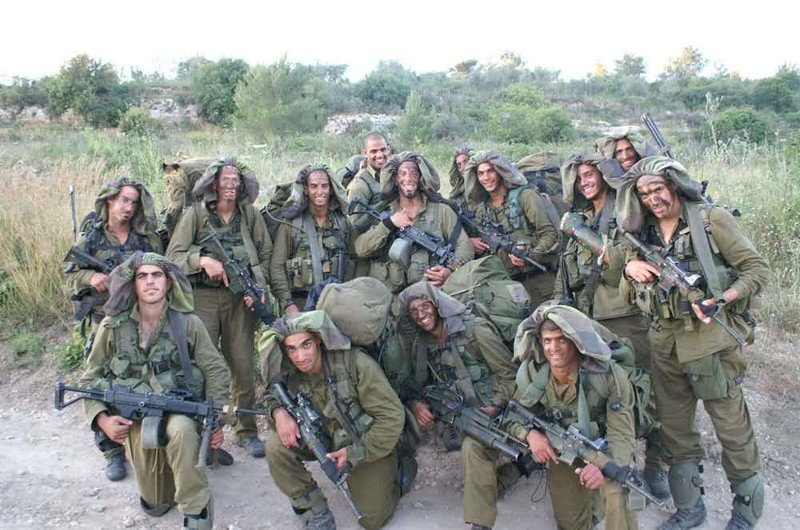"""12. Отряд """"Сайерет Маткаль"""" - израильский спецназ Группа """"А"""", антитеррористический десант, спецназ, спецназовцы, спецподразделение, спецподразделения"""