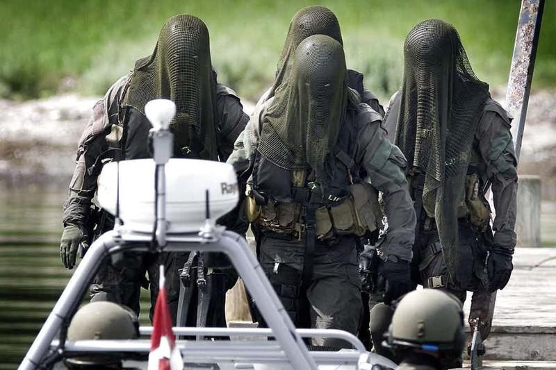 """9. Frømandskorpset (Danish Frogman Corps, FKP) - спецподразделение королевского флота Дании Группа """"А"""", антитеррористический десант, спецназ, спецназовцы, спецподразделение, спецподразделения"""