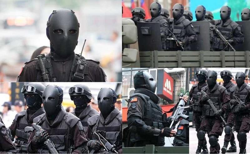 """15. Спецназ Тайваня Группа """"А"""", антитеррористический десант, спецназ, спецназовцы, спецподразделение, спецподразделения"""