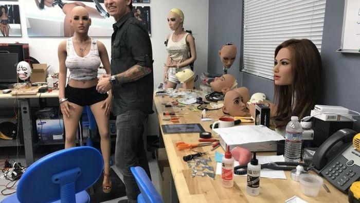 Как изготавливают кукол для взрослых Секс-куклы, интересное, куклы, прикол, фотографии