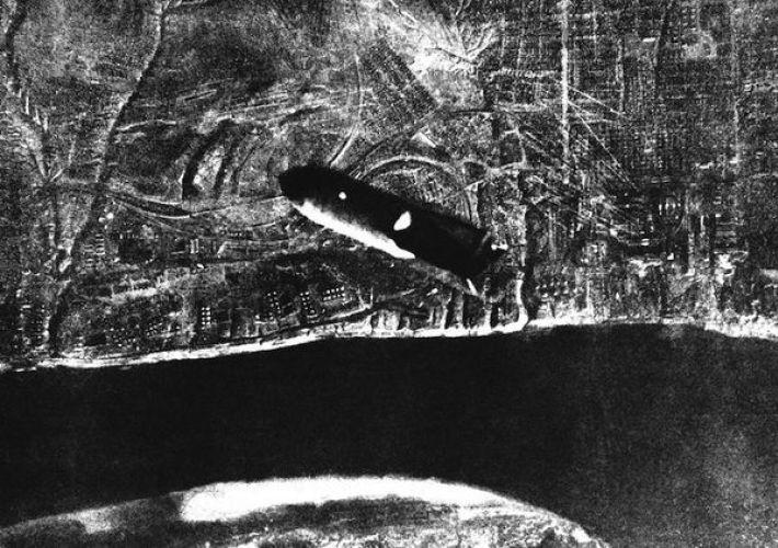 2. Летящая на Сталинград бомба