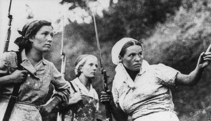 1. Советские партизанки