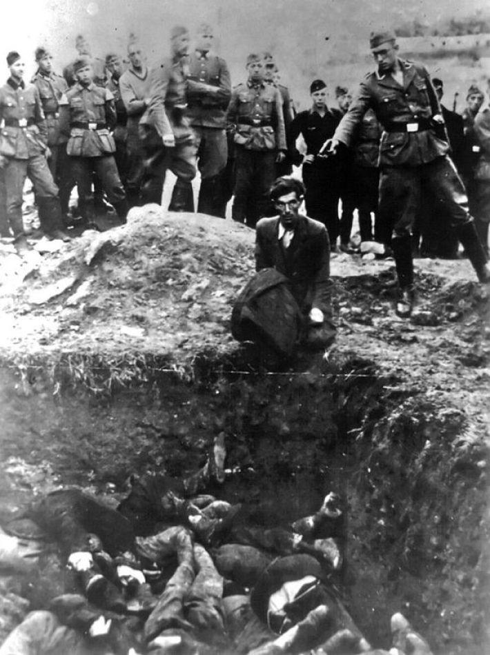 17. Немец убивает украинского еврея возле Винницы