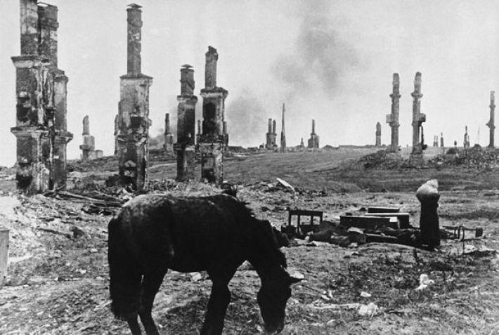 10. Руины Сталинграда, 1942 года