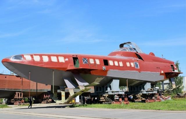 15 августа 2017 года судно на подводных крыльях «Комета 120М» переведено из судосборочного цеха-эллинга на достроечное место. Комета 120М, комета, судно на подводных крыльях