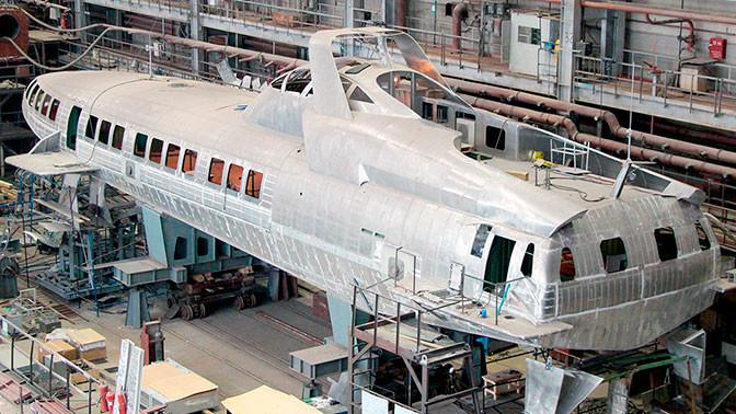 ЦКБ по судам на подводных крыльях им. Р. Е. Алексеева впервые за последние 30 лет планирует в ближайшее время спустить на воду новое судно «Комета 120М» Комета 120М, комета, судно на подводных крыльях