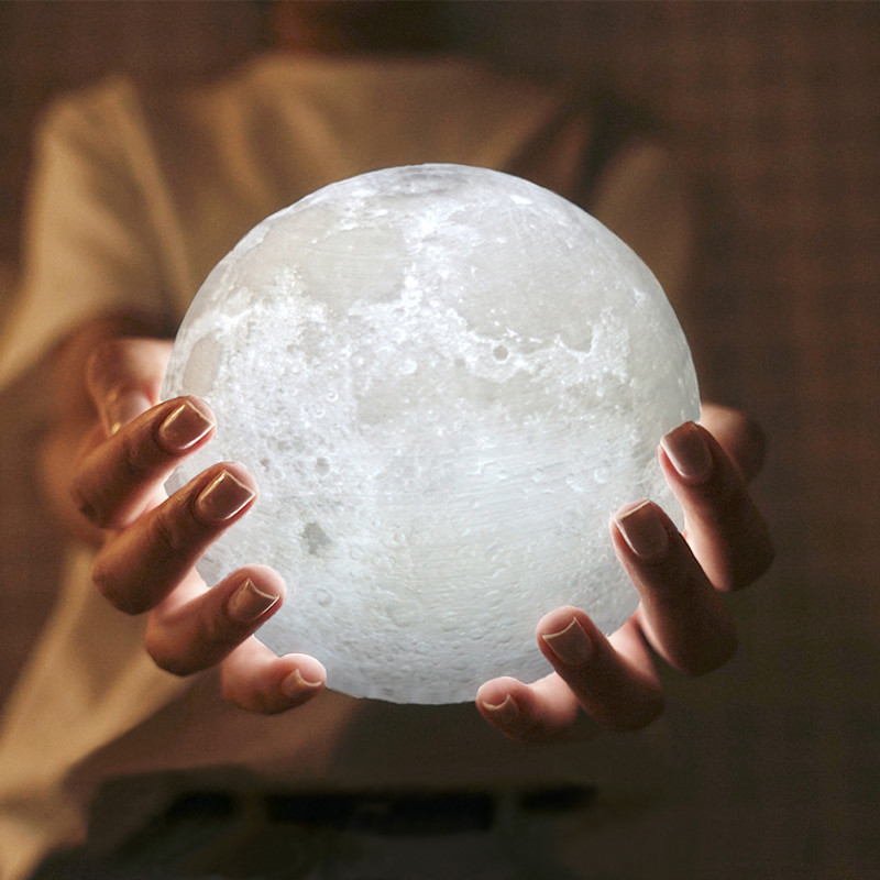 8. Светильник мини-луна aliexpress, будущее, гаджет, интернет-магазин, ноу-хау, покупки, юмор