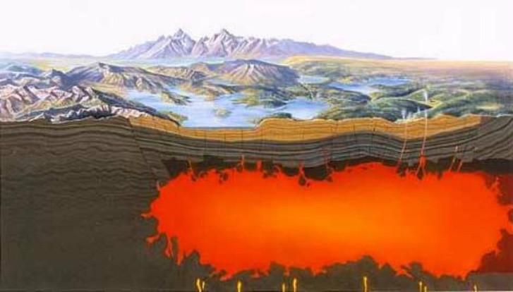 В NASA придумали план спасения от Йеллоустонского супервулкана nasa, в мире, вулкан, йеллоустон, план, природа, спасение