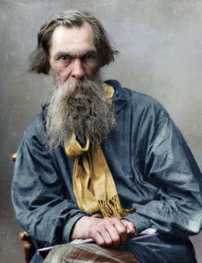 Алексей Кондратьевич Саврасов, 1890-е. история., колоризированные снимки, люди, россия, фото