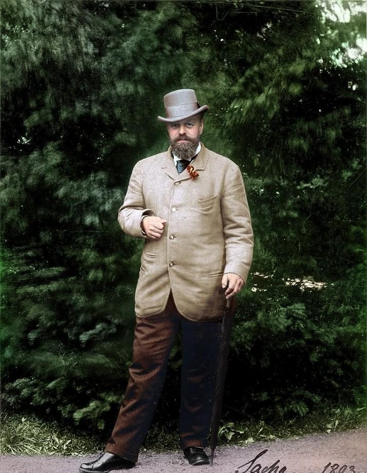 Александр III, 1893. история., колоризированные снимки, люди, россия, фото
