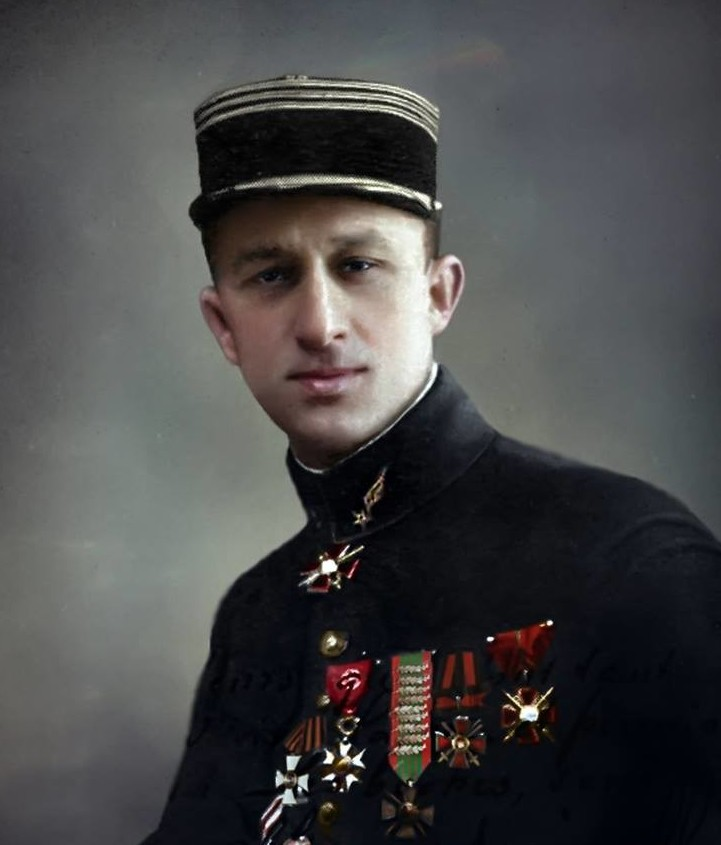 Арге́ев Па́вел Влади́мирович — русский лётчик-ас Первой мировой войны. история., колоризированные снимки, люди, россия, фото