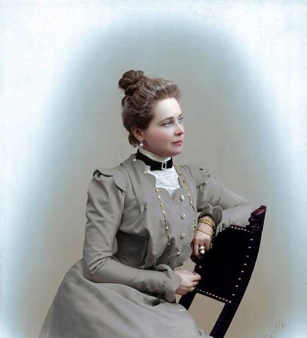 Зинаида Юсупова-княжна, затем княгиня Зинаи́да Никола́евна Юсу́пова — богатейшая российская наследница своего времени, последняя в роду Юсуповых, крупная благотворительница. история., колоризированные снимки, люди, россия, фото