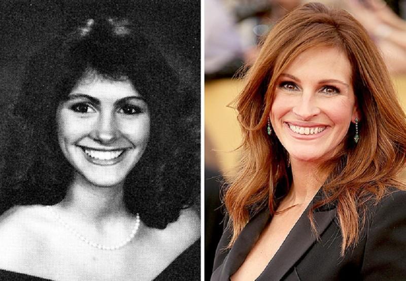 Джулия Робертс работала мороженщицей в Baskin Robbins актер, звезда, знаменитость, начало, подработка, профессия, слава