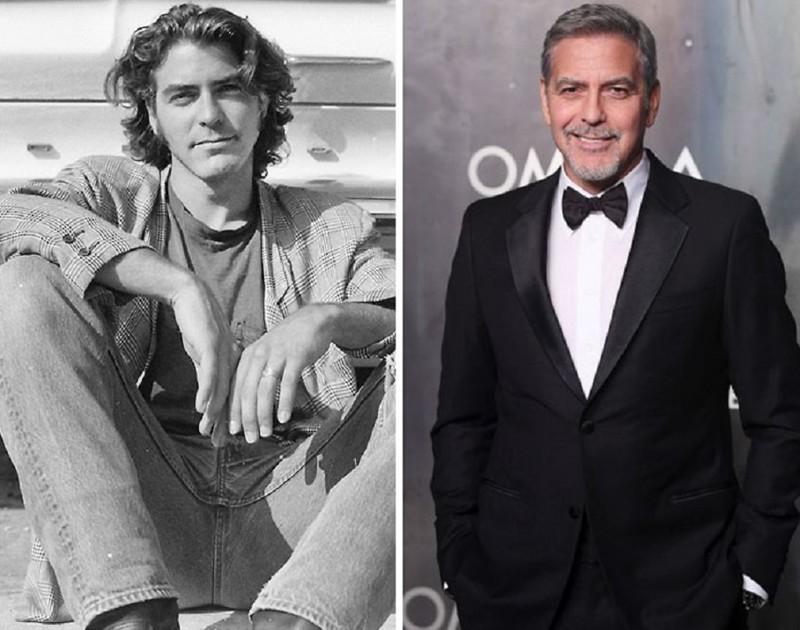 Джордж Клуни продавал женскую обувь, был страховщиком и строителем актер, звезда, знаменитость, начало, подработка, профессия, слава