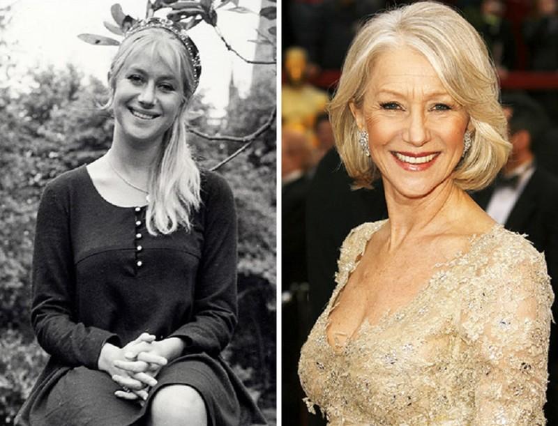 Хелен Миррен работала промоутером в парке аттракционов в Cаутенд-он-Си актер, звезда, знаменитость, начало, подработка, профессия, слава