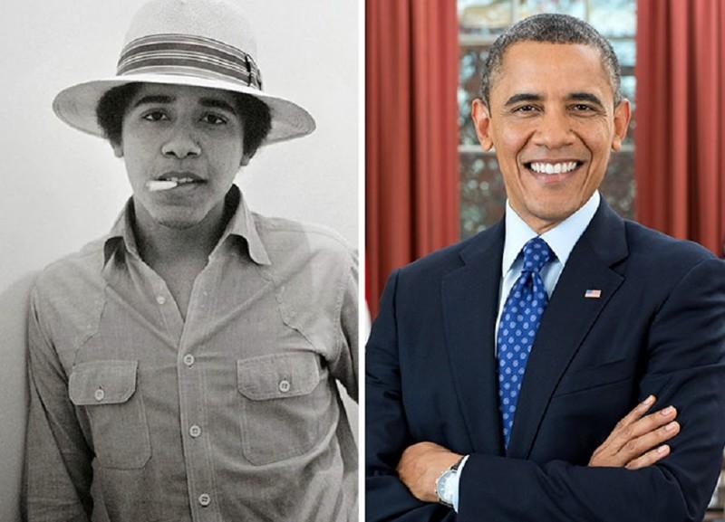 Барак Обама был мороженщиком в Baskin Robbins актер, звезда, знаменитость, начало, подработка, профессия, слава
