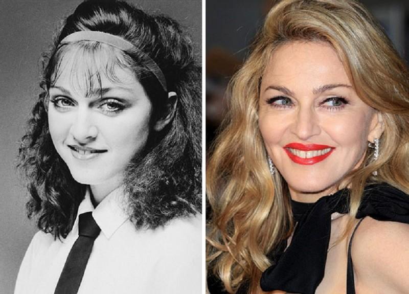 Мадонна работала в Dunkin Donuts актер, звезда, знаменитость, начало, подработка, профессия, слава
