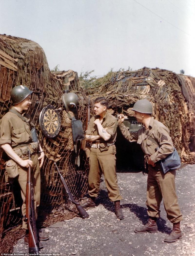 На досуге архивные фотографии, военные фото, вторая мировая война, вторая мировая. фото, нормандия, франция