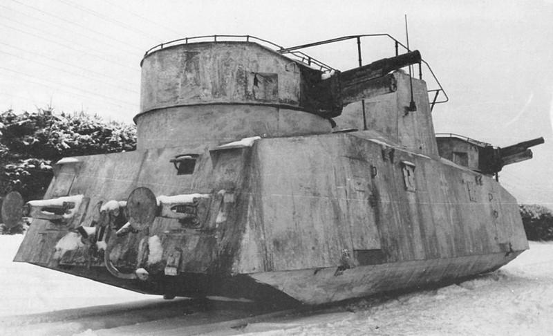 Трофейный советский мотоброневагон Д-2 на службе вермахта СССР, война, история