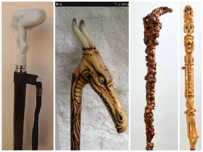 Ко второй половине XVIII веке мужские трости значительно укоротились их носили под мышкой. интересно, искусство, история, красиво, трость, факты