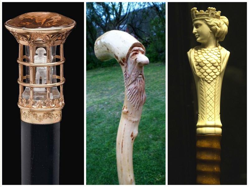 Петр I нередко дарил своим подданным именно трости, как знак особого расположения интересно, искусство, история, красиво, трость, факты