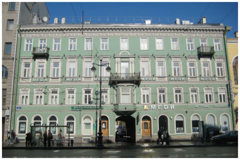 Доходный дом генерала Максимовича на Невском проспекте бордель, дом терпимости, здания, интересное, история, проституция