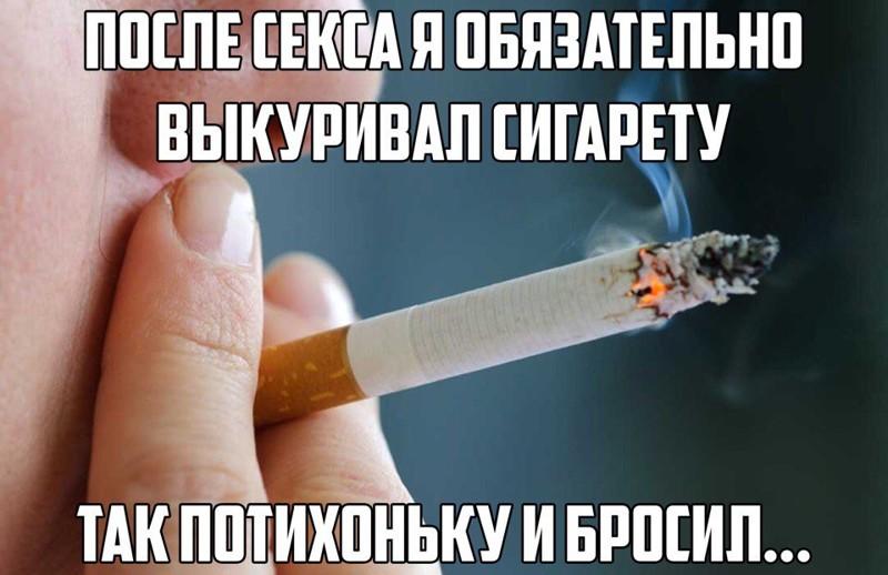 Смешные картинки сигарета