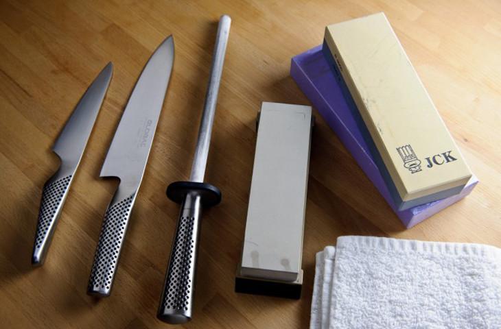 Чем точить японский кухонный нож купить армейский нож, резка колючей проволоки