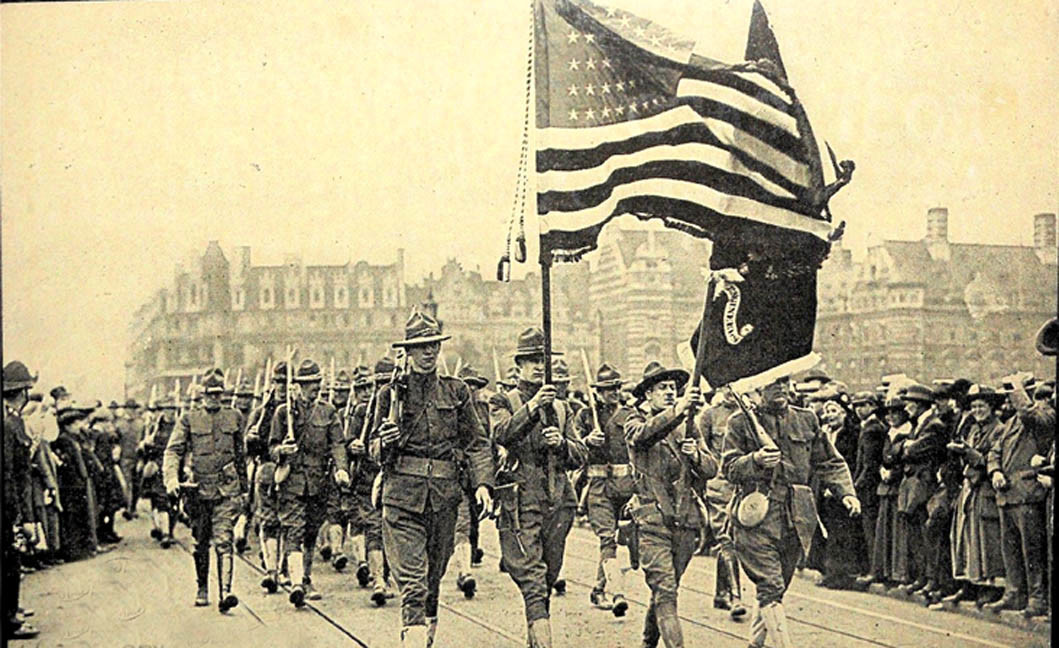 a report on the reasons the united states got involved in world war i Library world war ii by nation  united states of america world war ii in the united states of america in the 1930's the american people -- having lost many young men in world war i -- were very hesitant to involve themselves in another distant war.
