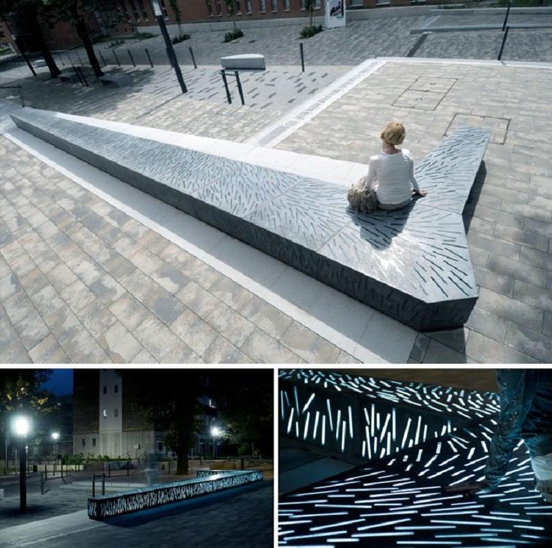Самые креативные и необычные скамейки город, дизайн, креатив, лавка, парк, прогулка, скамейка