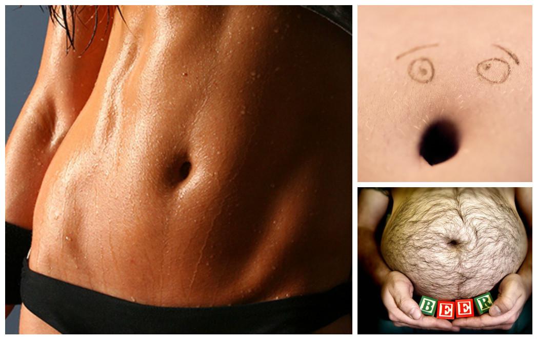 Что можно узнать о здоровье и характере человека по форме пупка живот, здоровые, психология, пупок, форма пупка, характер