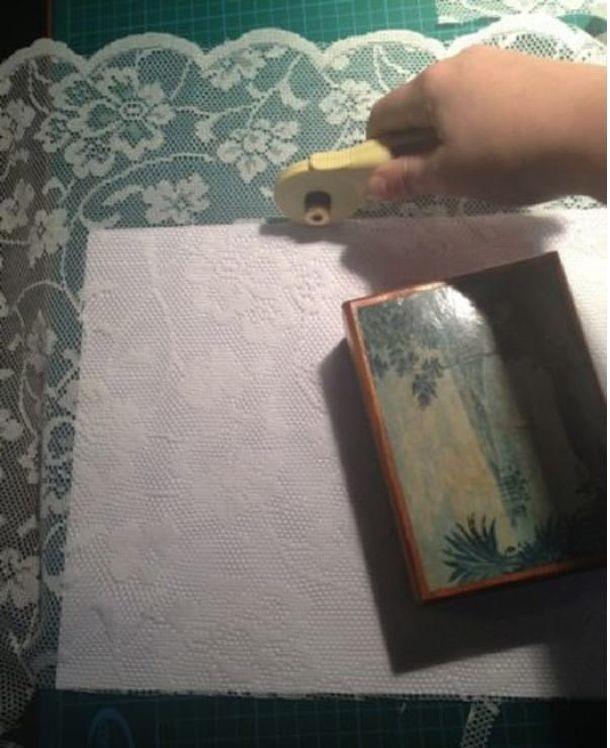 Ход работы декор, необычно, окна, окно, своими руками, тюль, украшательство