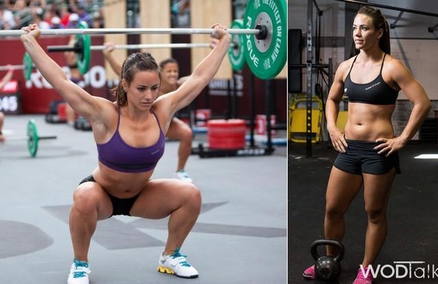 Камилла Леблан-Базине - кроссфит, тяжелая атлетика девушки, красавицы, красота, красотки, обаятельные и привлекательные, спорт, спортсменки, фото
