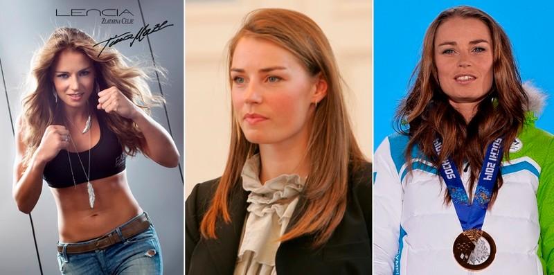 Тина Мазе - горные лыжи девушки, красавицы, красота, красотки, обаятельные и привлекательные, спорт, спортсменки, фото