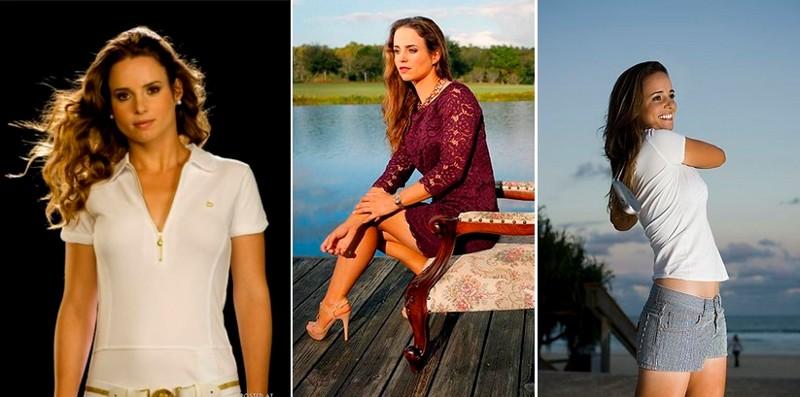 Беатрис Рекари - гольф девушки, красавицы, красота, красотки, обаятельные и привлекательные, спорт, спортсменки, фото