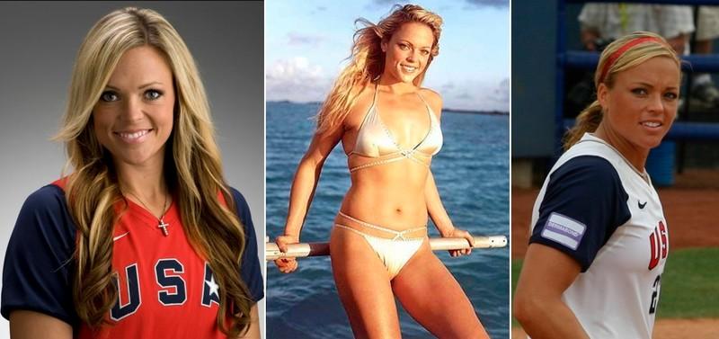Дженни Финч - софтбол девушки, красавицы, красота, красотки, обаятельные и привлекательные, спорт, спортсменки, фото