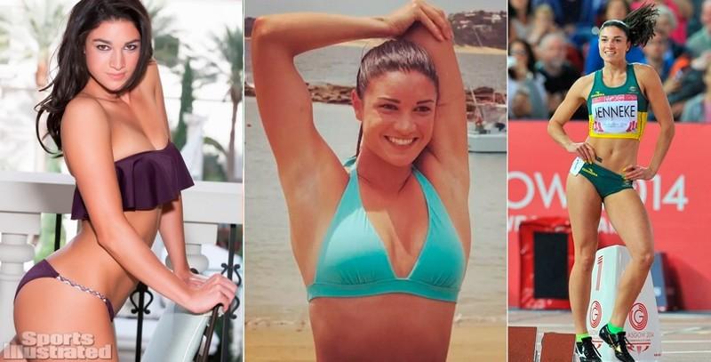Мишель Дженнеке - легкая атлетика девушки, красавицы, красота, красотки, обаятельные и привлекательные, спорт, спортсменки, фото
